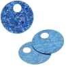 Sequins Hologram 20mm 4mm Hole Round Blue